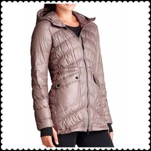 ATHLETA Uptown Puffer Jacket Sz Small